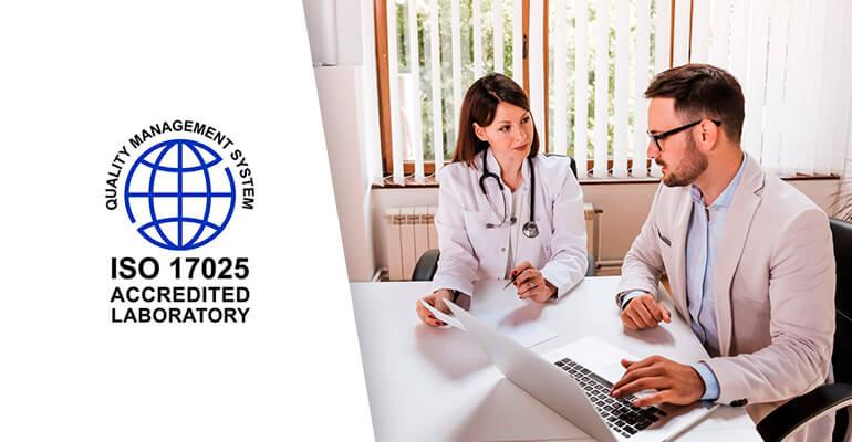 ISO 17025 laboratorio